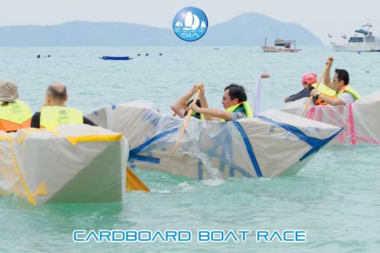 Cardboard Boat Race The Ultimate Teambuilding Activity
